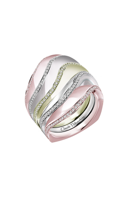 Claude Thibaudeau Avant-Garde Wedding Band PLT-10185RVR-MP product image