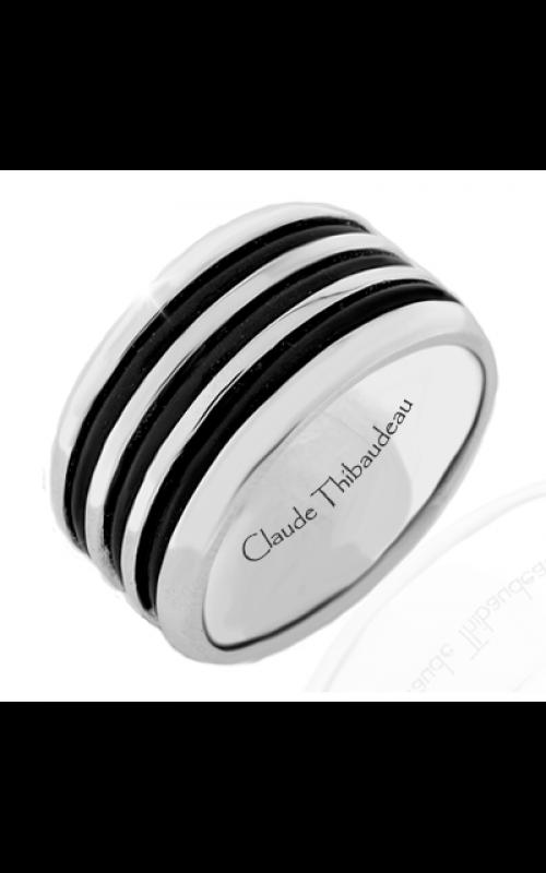 Claude Thibaudeau Black Hevea Wedding band PLT-1573-H product image