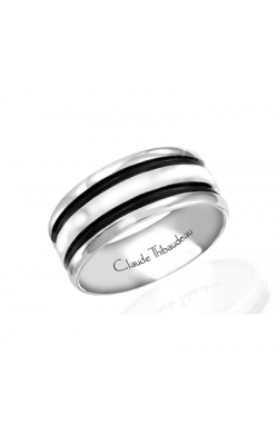 Claude Thibaudeau Black Hevea Wedding Band PLT-1642-F product image