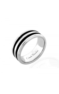 Claude Thibaudeau Black Hevea Wedding Band PLT-1657-F product image