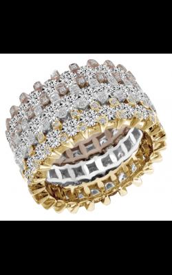 Claude Thibaudeau Designer Anniversary Wedding Band PLT-1930-YBR product image