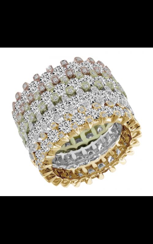 Claude Thibaudeau Designer Anniversary Wedding band PLT-1930-YBVR product image