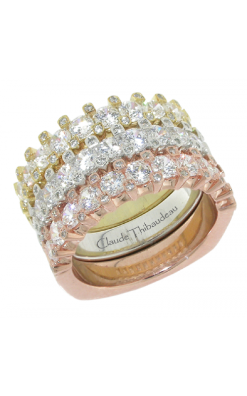 Claude Thibaudeau Designer Anniversary Wedding band PLT-1937-RBY product image
