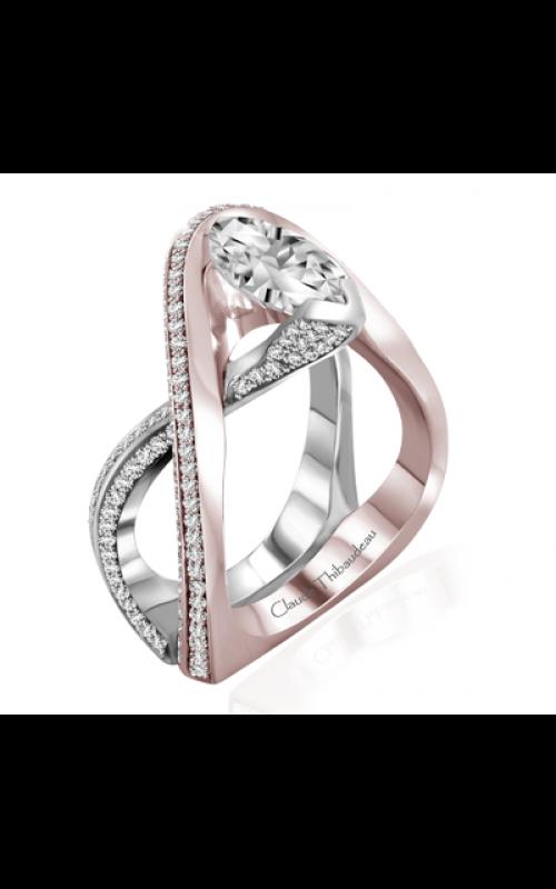 Claude Thibaudeau Avant-Garde Engagement ring PLT-10004R-MP product image
