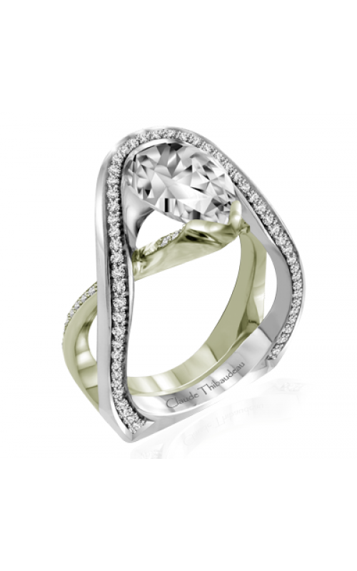 Claude Thibaudeau Avant-Garde Engagement ring PLT-10011V-MP product image
