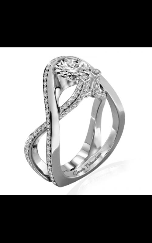 Claude Thibaudeau Avant-Garde Engagement ring PLT-10017-MP product image
