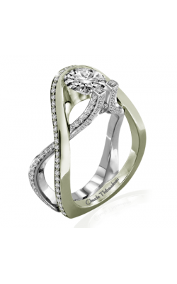 Claude Thibaudeau Avant-Garde Engagement ring PLT-10017V-MP product image