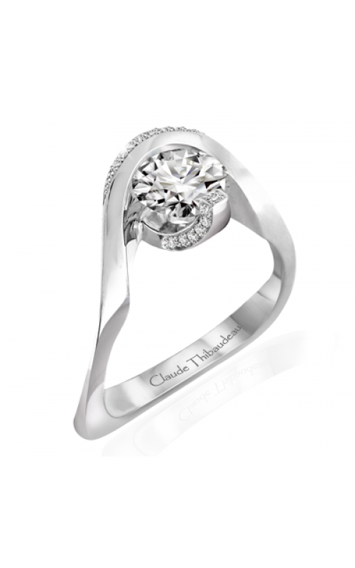 Claude Thibaudeau Avant-Garde Engagement ring PLT-10035-MP product image