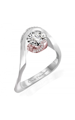 Claude Thibaudeau Avant-Garde Engagement ring PLT-10035R-MP product image