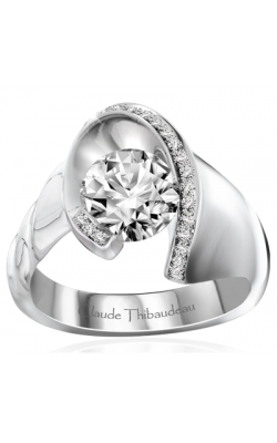 Claude Thibaudeau Avant-Garde Engagement ring PLT-10043-MP product image