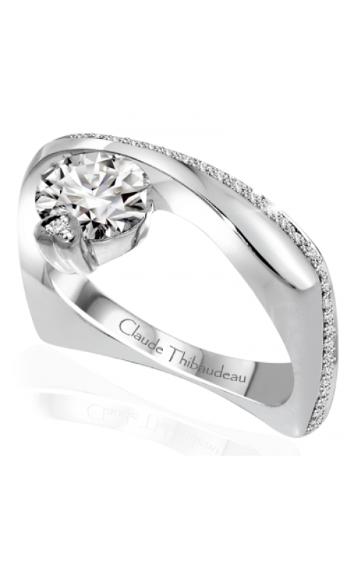 Claude Thibaudeau Avant-Garde Engagement ring PLT-10050-MP product image