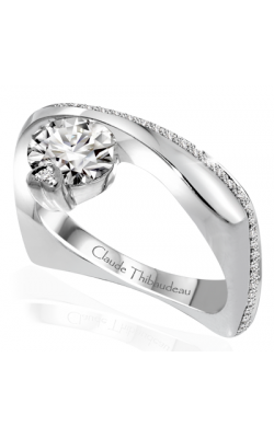Claude Thibaudeau Avant-Garde Engagement ring PLT-10050-MP product image