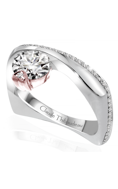 Claude Thibaudeau Avant-Garde Engagement ring PLT-10050R-MP product image