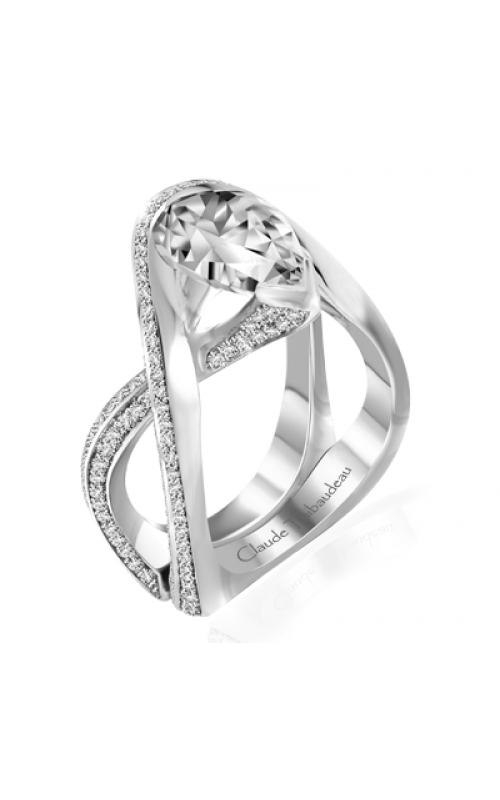 Claude Thibaudeau Avant-Garde Engagement ring PLT-10058-MP product image