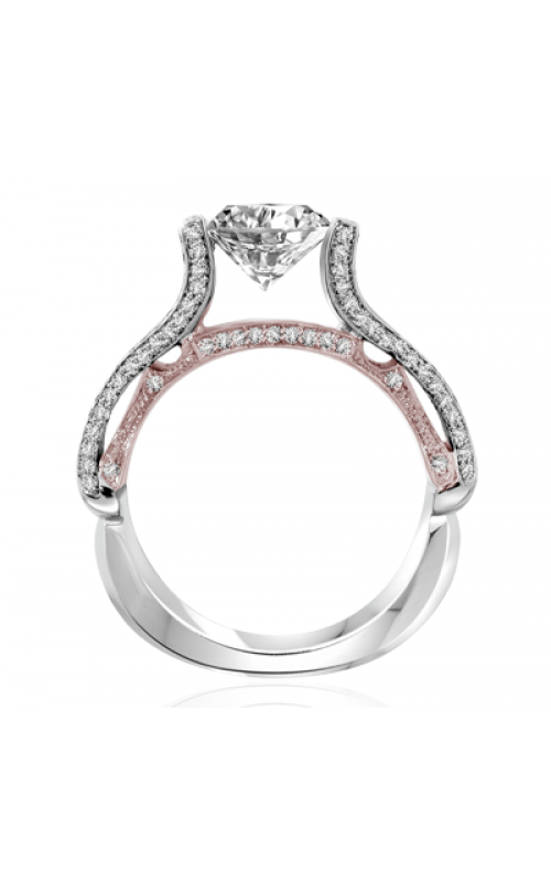 Claude Thibaudeau Avant-Garde Engagement ring PLT-10061R-MP product image