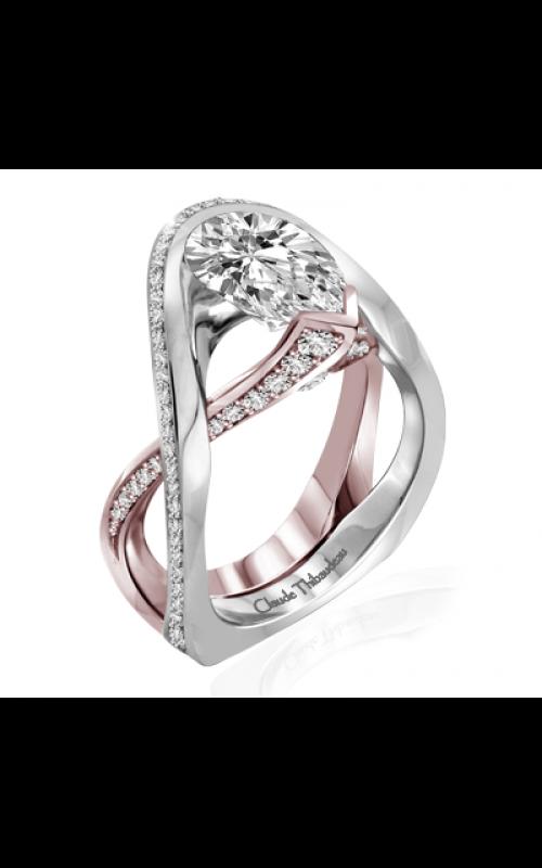 Claude Thibaudeau Avant-Garde Engagement ring PLT-10131R-MP product image