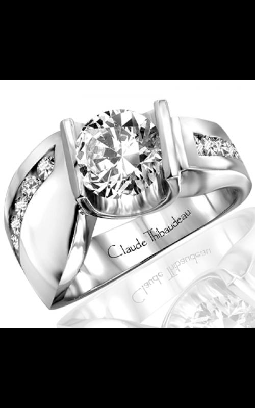 Claude Thibaudeau Avant-Garde Engagement ring PLT-1204 product image