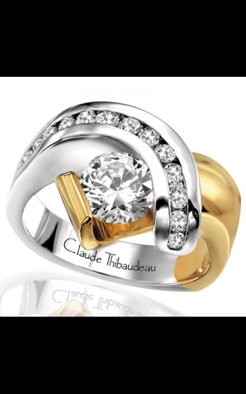 Claude Thibaudeau Avant-Garde Engagement ring PLT-1205 product image