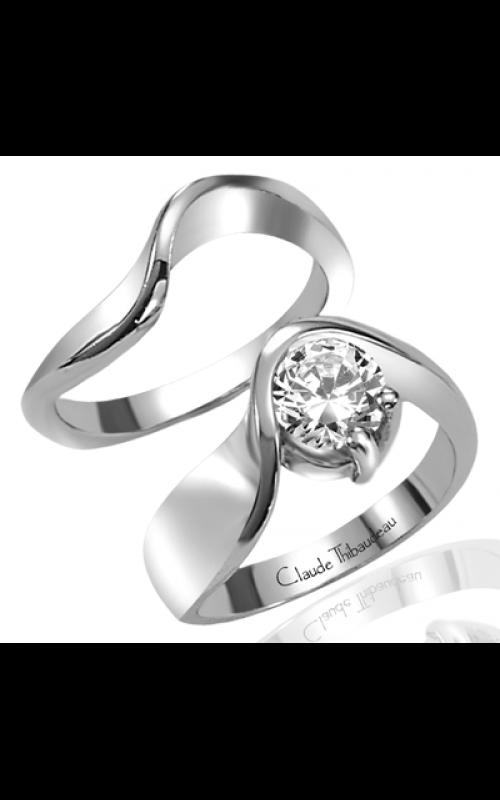 Claude Thibaudeau Avant-Garde Engagement ring PLT-1230 product image