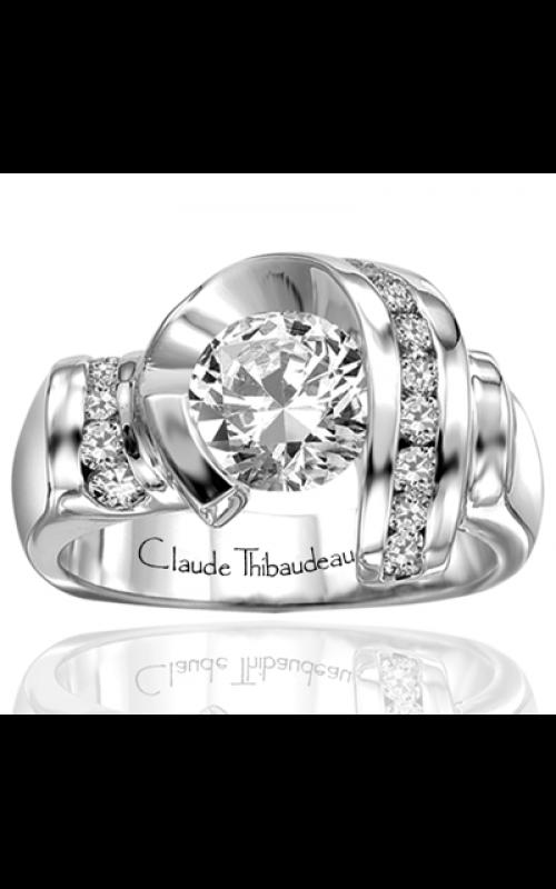 Claude Thibaudeau Avant-Garde Engagement ring PLT-1248 product image