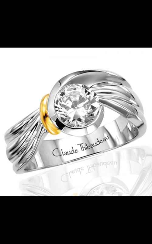Claude Thibaudeau Avant-Garde Engagement ring PLT-1417 product image