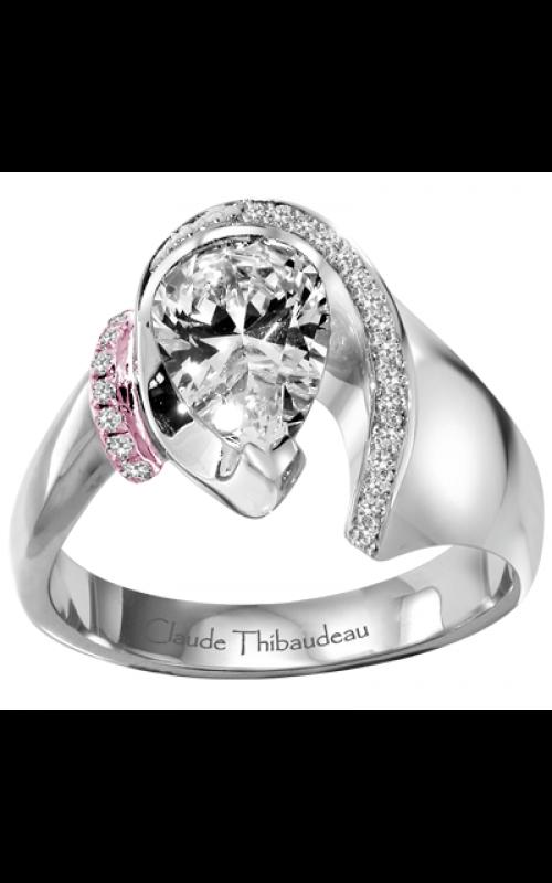 Claude Thibaudeau Avant-Garde Engagement ring PLT-1430R-MP product image