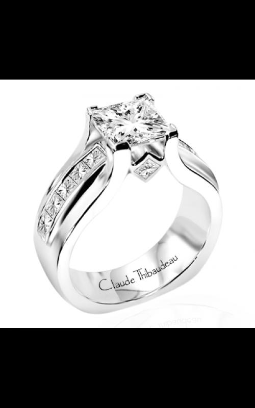 Claude Thibaudeau Avant-Garde Engagement ring PLT-1451 product image