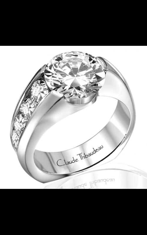 Claude Thibaudeau Avant-Garde Engagement ring PLT-185 product image