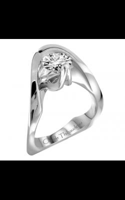 Claude Thibaudeau Avant-Garde Engagement ring PLT-1877 product image