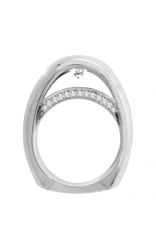 Claude Thibaudeau Avant-Garde Engagement ring PLT-1882-MP product image
