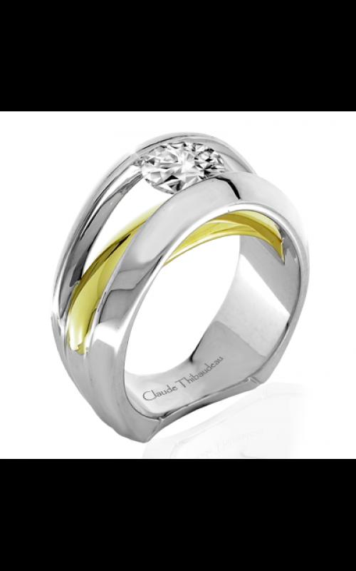 Claude Thibaudeau Avant-Garde Engagement ring PLT-1901 product image