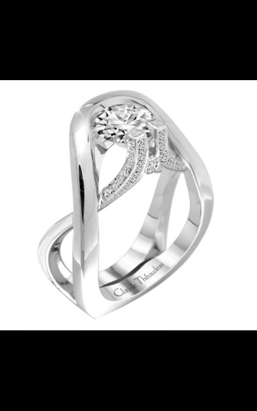 Claude Thibaudeau Avant-Garde Engagement ring PLT-1952-MP product image
