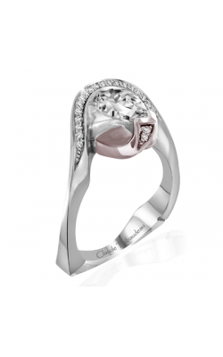 Claude Thibaudeau Avant-Garde Engagement ring PLT-1962R-MP product image