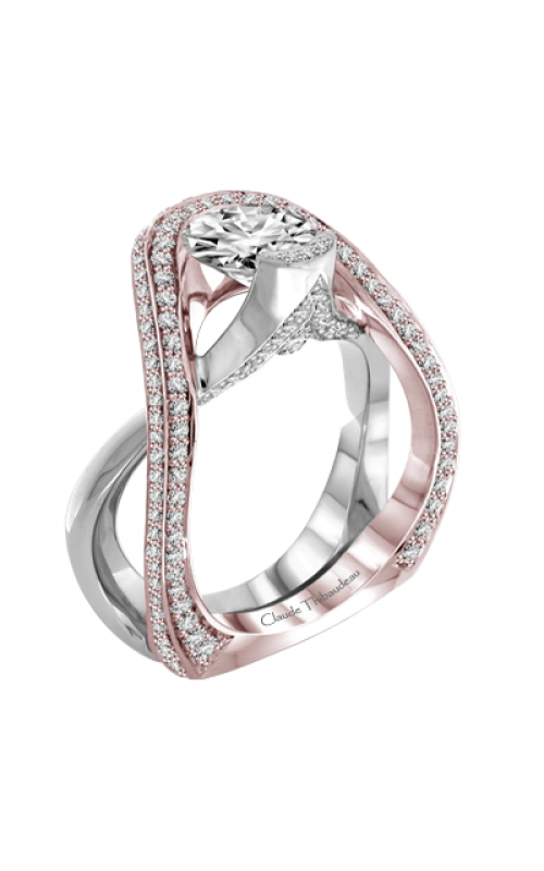Claude Thibaudeau Avant-Garde Engagement ring PLT-1976R-MP product image