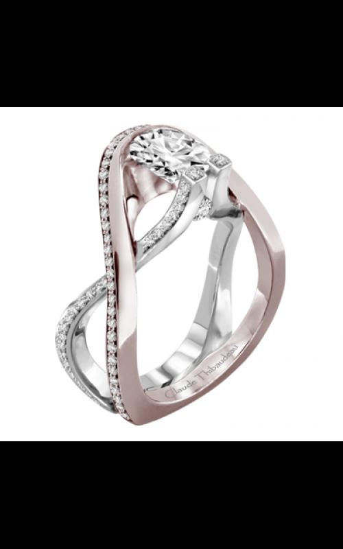 Claude Thibaudeau Avant-Garde Engagement ring PLT-1981R-MP product image