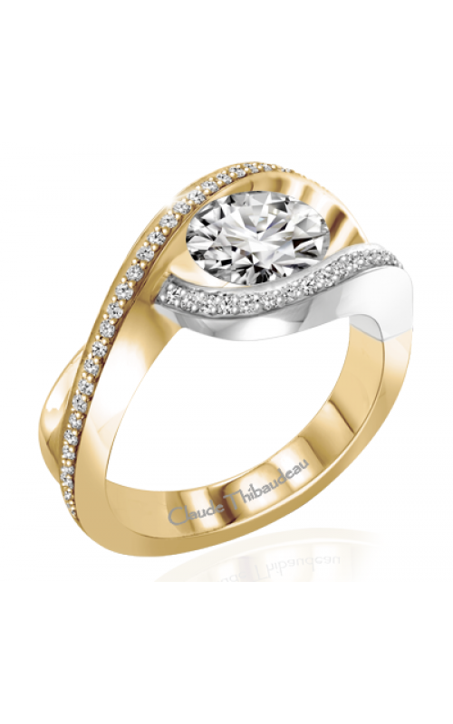 Claude Thibaudeau Avant-Garde Engagement ring PLT-2388-MP product image