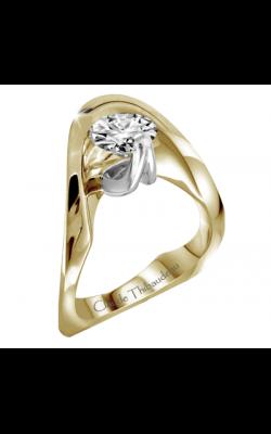 Claude Thibaudeau Avant-Garde Engagement ring PLT-2877 product image