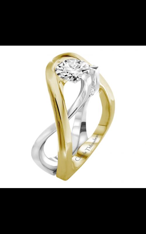 Claude Thibaudeau Avant-Garde Engagement ring PLT-2879 product image