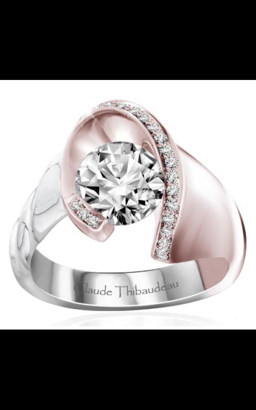 Claude Thibaudeau Avant-Garde Engagement ring PLT-70043RW-MP product image