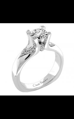 Claude Thibaudeau European Micro-Pave Engagement ring MODPLT-1873-MP product image