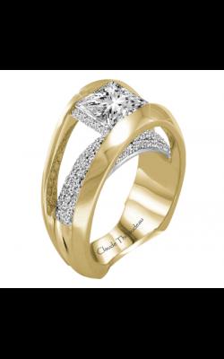 Claude Thibaudeau European Micro-Pave Engagement ring PLT-2883-MP product image