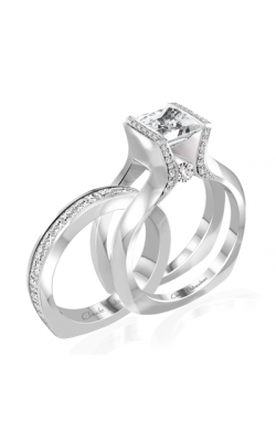 Claude Thibaudeau Interchangeables Engagement Ring PLT-10049-MP product image