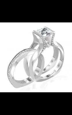 Claude Thibaudeau Interchangeables Engagement ring PLT-10049-MP product image