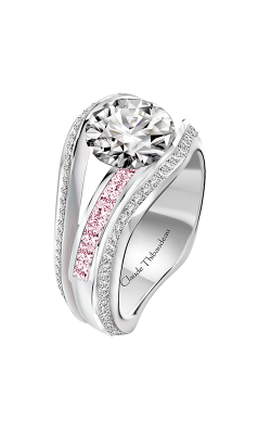 Claude Thibaudeau Just Released Engagement Ring PLT-10203-MPR product image