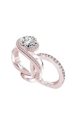Claude Thibaudeau Just Released Engagement Ring PLT-70205R-MP product image