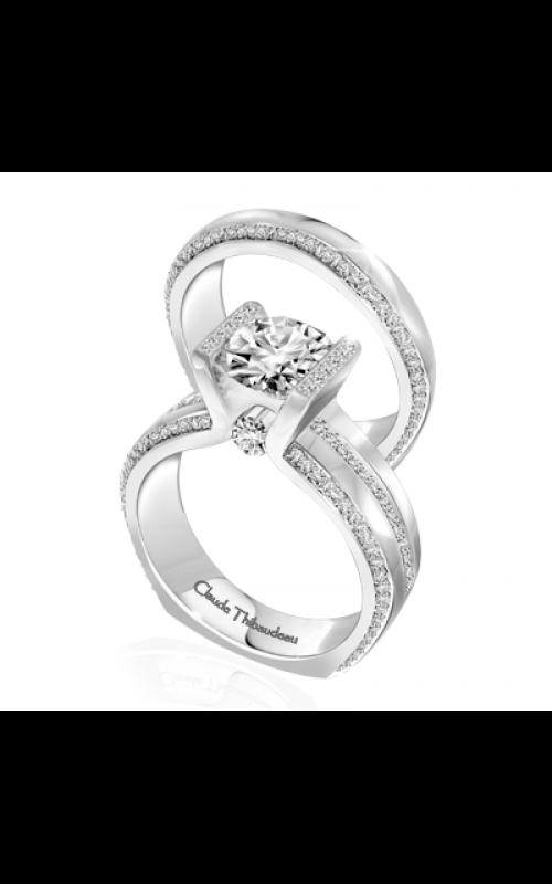 Claude Thibaudeau La Cathedrale Engagement ring PLT-10019-MP product image
