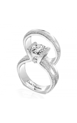 Claude Thibaudeau La Cathedrale Engagement Ring PLT-10019-MP product image