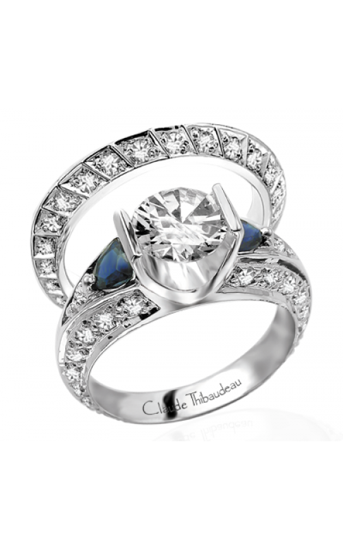Claude Thibaudeau La Cathedrale Engagement ring PLT-1280 product image