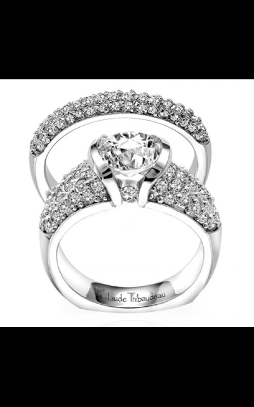Claude Thibaudeau La Cathedrale Engagement ring PLT-1557 product image