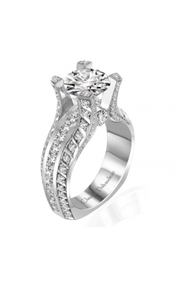 Claude Thibaudeau La Royale Engagement Ring MODPLT-10047-MP product image